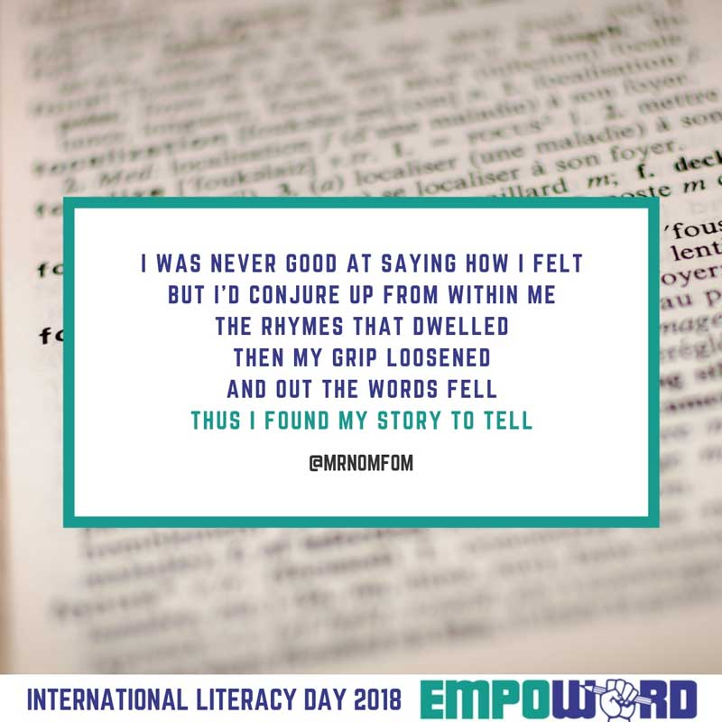 Instapoetry - International Day of Literacy