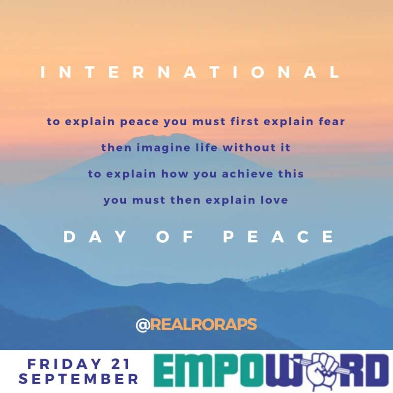 Instapoetry - International Day of Peace